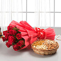 Roses with dryfruits EXDFNP113: