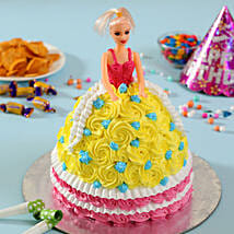 Rosy Barbie Cake: Birthday Cakes for Kids