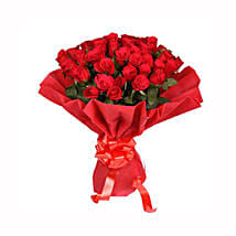 Ruby Red: Flower Bouquets Patna