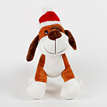 Santa Dog Stuffed Toy: Send Soft Toys