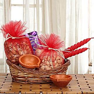 Savoury Treats: Send Diwali Gift Baskets