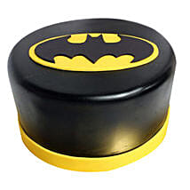Shining Batman Cream Cake: Send Gifts to Panvel