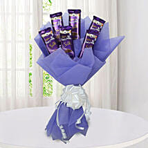 Silk Chocolate Bouquet: Diwali Gifts to Udupi