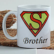 Sizzle With Superman Mug: Rakhi to Anand