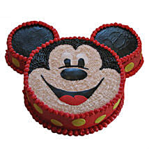Smiley Mickey Mouse Cake: Gifts for 1St Birthday