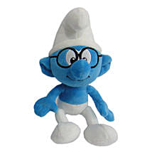 Smurf Smurf With Glass 20 Cm with Chocolate: Soft Toys Gifts