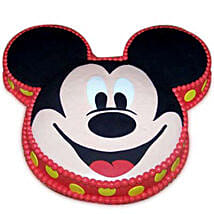 Soft Mickey Face Cake: Black Forest Cakes