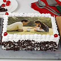 Special Black Forest Photo Cake: Send Photo Cakes