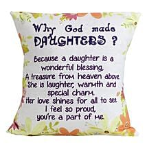 Special Daughters Cushion: