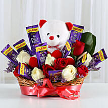 Special Surprise Arrangement: Gifts for Rose Day