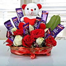 Special Surprise Arrangement: Chocolate Day Gifts
