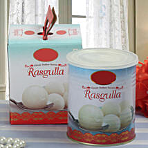 Squeeze it Rasgullas: Christmas Sweets