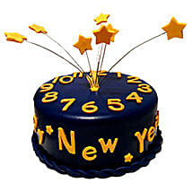 Starry New Year Cake: New Year Gifts for Family