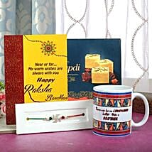 Studded With Love: Send Rakhi With Sweets to Durgapur