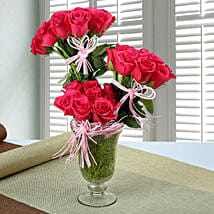 Stunning Rose Arrangement: Independence Day Gifts