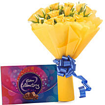 Style Celebration: Send Flowers & Chocolates to Lucknow