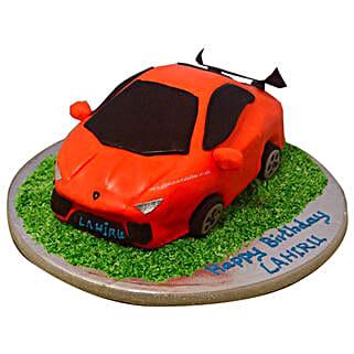 Stylish Lamborghini Cake: Designer Cakes to Bengaluru