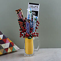 Sugary Treats: Chocolate Bouquet for Holi