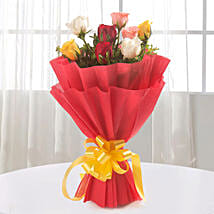 Sundry Mix Roses: Send Valentine Flowers to Coimbatore