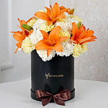 Sunny Hues Floral Beauty: Send Lilies