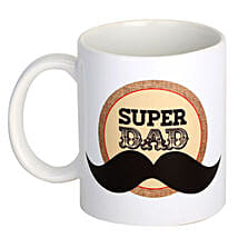 Super Dad Coffee Mug: Fathers Day Gifts Bengaluru