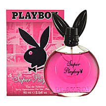 Super Playboy Womens EDT Spray: Send Perfumes