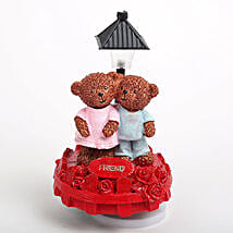 Sweet Friend Teddy Showpiece: Send Valentine Gifts to Faridabad