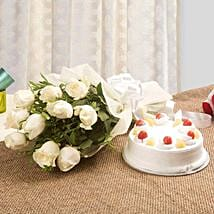 Sweet Heavenly Hamper: Send Flowers & Cakes to Faridabad