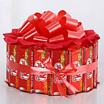 Sweet KitKat Bouquet: Christmas Gifts Your Family
