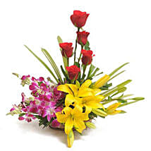 Sweet Splendor: Send Flowers to Bathinda