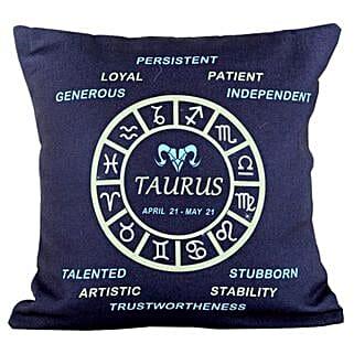 Taurus Cushion: Gifts for Taureans