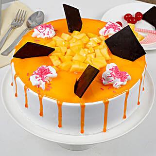 Tempting Summer Mango Fruit Cake: Send Mango Cakes