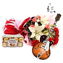 The Music of Romance: Anniversary Flowers for Parents
