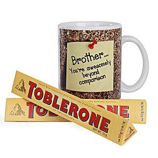 Toblerone and Mug Combo: Birthday Mugs