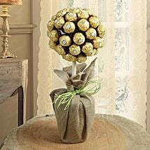 Topiary Chocolate Tree: Mothers Day Chocolate Bouquet