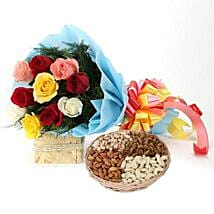 Treat Me: Flowers & Dry Fruits