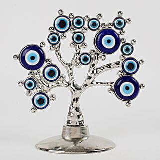 Tree Shaped Evil Eye Showpiece: Diwali Gifts for Friend