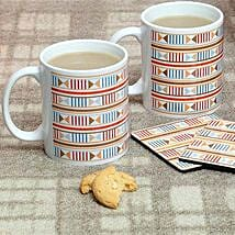 Trendy Mugs With Coasters: Mugs for Fathers Day