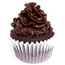 Tripple Chocolate Cupcakes: Eggless cakes for anniversary