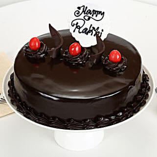 Truffle Delight Rakhi Cake: Gifts Delivery In Ramamurthy Nagar