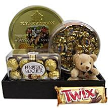 Twix Choco Hamper: Thank You Chocolates