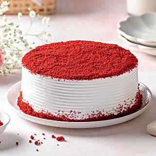 Red Velvet Fresh Cream Cake: Cakes to Gurgaon