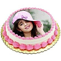 Vanilla Photo Cake: Cakes to Indore