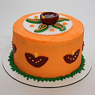 Vivid Diwali Cake: Diwali Gifts for Him