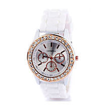 White Diamante Watch For Women: Buy Watches