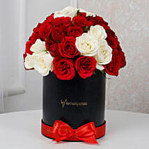 White N Red Floral Beauty: Birthday gifts