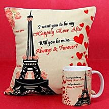 Will You Be Mine Gifts: Cushions