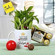 Womens Day Smile Hamper: Bamboo Plants