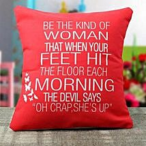 Womens Day Special Cushion: Buy Cushions
