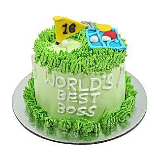 Worlds Best Boss Cake: Boss Day Gifts